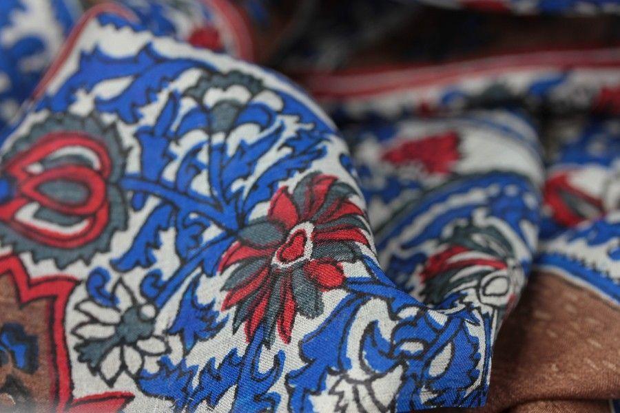 foulard en soie 2